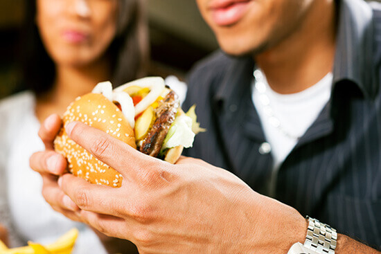 HealthQuest Physical Therapy Unhealthy Food Contributes to Your Pain!