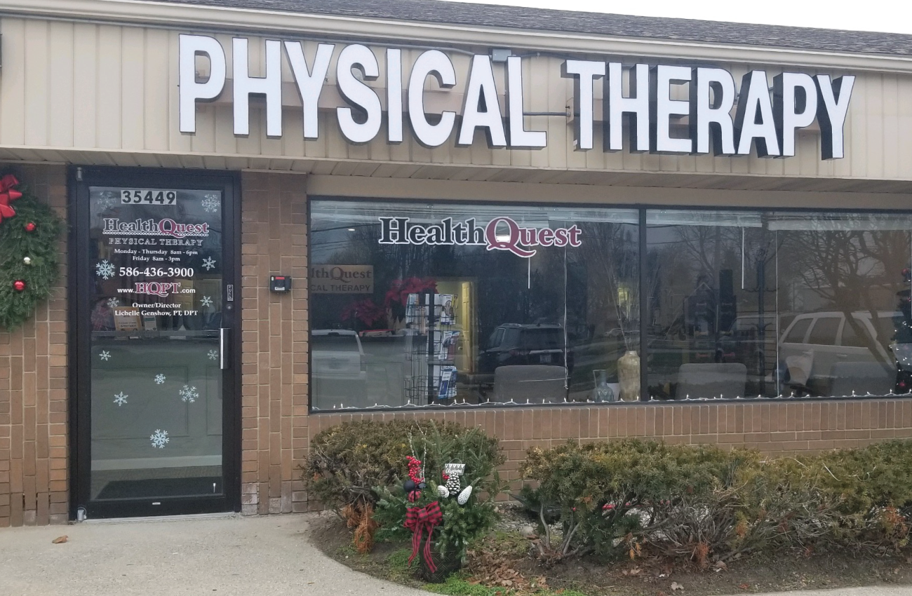 HealthQuest Physical Therapy New Baltimore outside of building